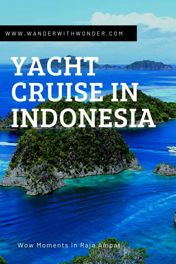 Embark on a 4-day luxury yacht cruise in Indonesia! The luxurious Prana by Atzaro, a traditional phinisi yacht, takes you to magnificent Raja Ampat. #yacht #cruise #luxurycruise #RajaAmpat #Indonesia #luxurytravel #travel