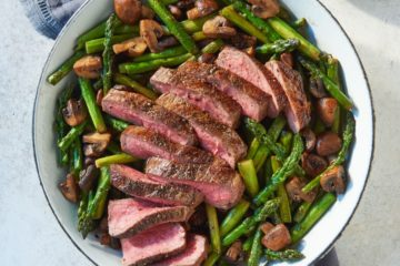 Skillet-Seared Sirloin. From No Crumbs Left: Whole30 Endorsed, Recipes for Everyday Food Made Marvelous © 2019 by Teri Turner LLC. Photo © 2019 by Tim Turner. Reproduced by permission of Houghton Mifflin Harcourt. All rights reserved.