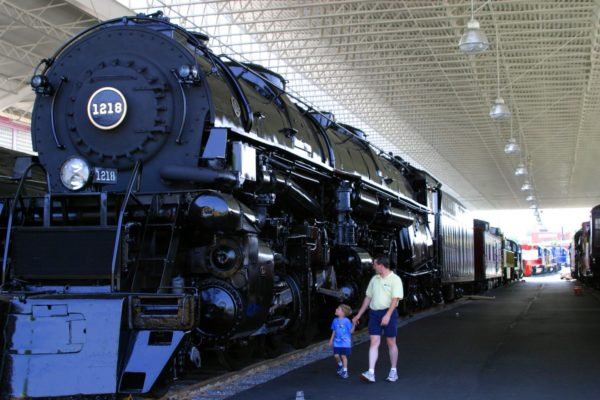 Virginia Museum of Transportation in Roanoke, Virginia