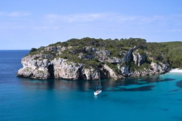 Cala Llamp Bay on Formentera. Photo by Orsi Oletics via Pixabay.
