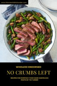 I know there is a lot of support for eating gluten- and dairy-free, but I could barely imagine a full cookbook of those recipes—let alone ones that result in amazing flavors. But Teri Turner does an amazing job of creating really incredible recipes that result in dishes filled with flavor. Here's a look at the no crumbs left cookbook and a couple of sample recipes. #Whole30 #Recipes #Cookbook #BookReview #Gluten-Free #Dairy-Free