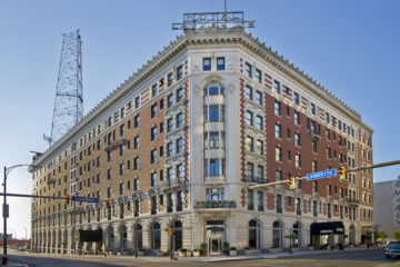Historic Hotel Lafayette at Washington and Clinton streets. Photo courtesy Visit Buffalo Niagara Visitor Center