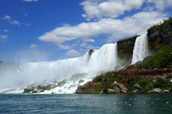 The Cave of the Winds at Niagara Falls. Photo by Susan Lanier-Graham