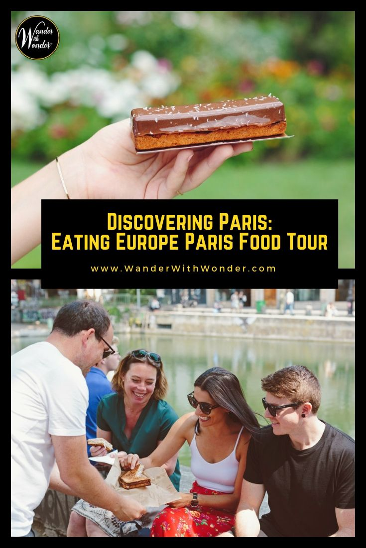The Hip Eats & Backstreets tour with Eating Europe Paris is a 4-hour Paris food tour that takes you to where the locals eat and gives you an understanding of what it's really like to live in Paris. #food #foodtour #tours #Paris #France