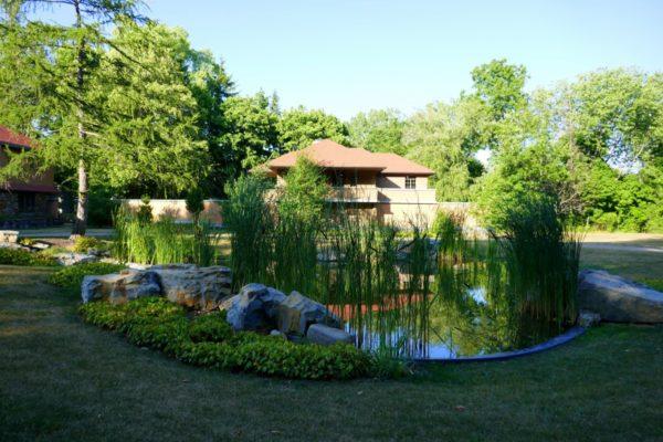Graycliff is a Frank Lloyd Wright property near Buffalo