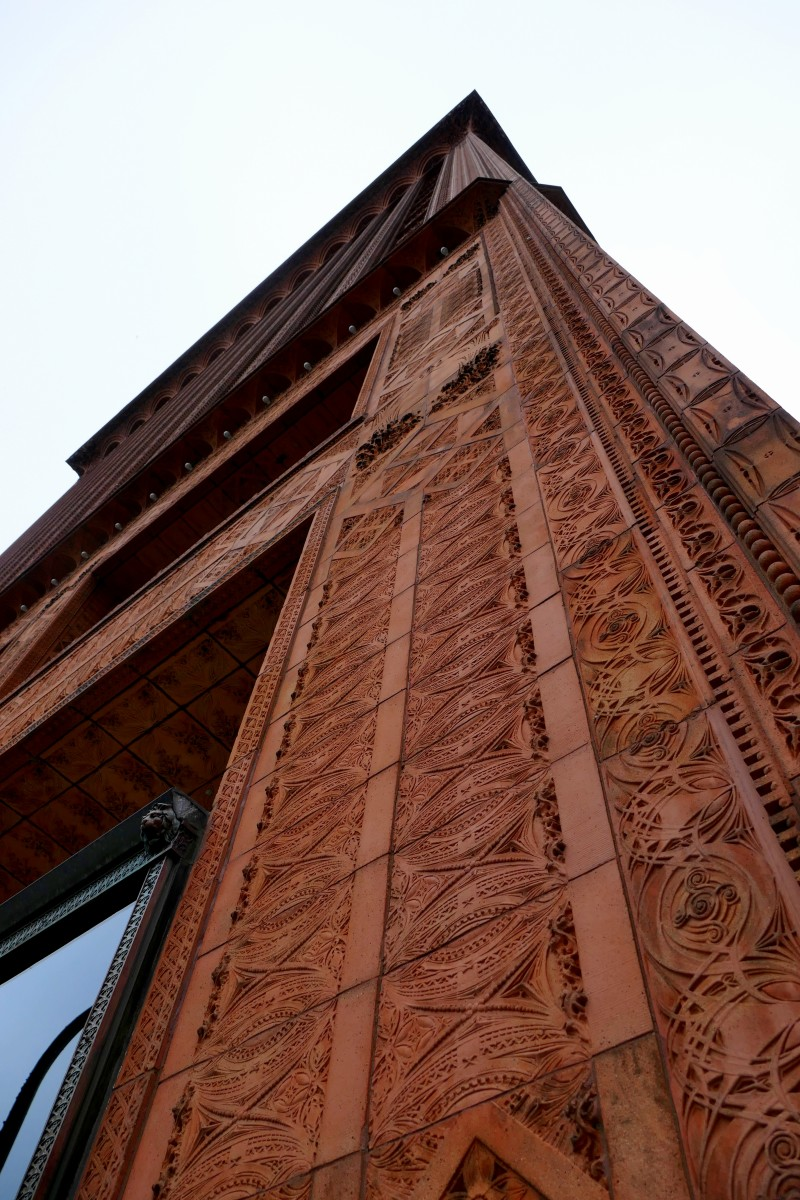 Guaranty Building is covered in terra cotta. Photo by Susan Lanier-Graham