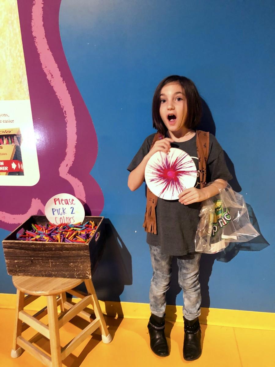 Crayola Experience Visit Plano Texas