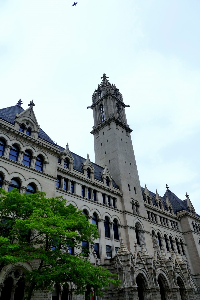 The Old Post Office, now Erie Community College, in Buffalo. Photo by Susan Lanier-Graham