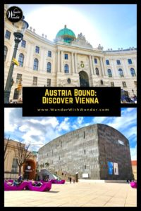 Austria's capital city of Vienna, Wien in German, sits almost exactly at the center of Europe. Perched along the Danube River and filled with exquisite architecture, history, and expansive green parks, it is the ideal place to begin exploring Austria. #Austria #Vienna #Wien #Travel #Europe #WanderVienna