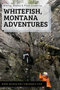 """I ventured to the beautiful northern Rocky Mountains and the historic, yet progressive town of Whitefish, Montana. My goal? Trying a new adventure and seeing Glacier National Park in what they call the """"Secret Season."""" #Montana #Adventure #travel #NationalParks #GlacierNationalPark #rockclimbing #mountains"""