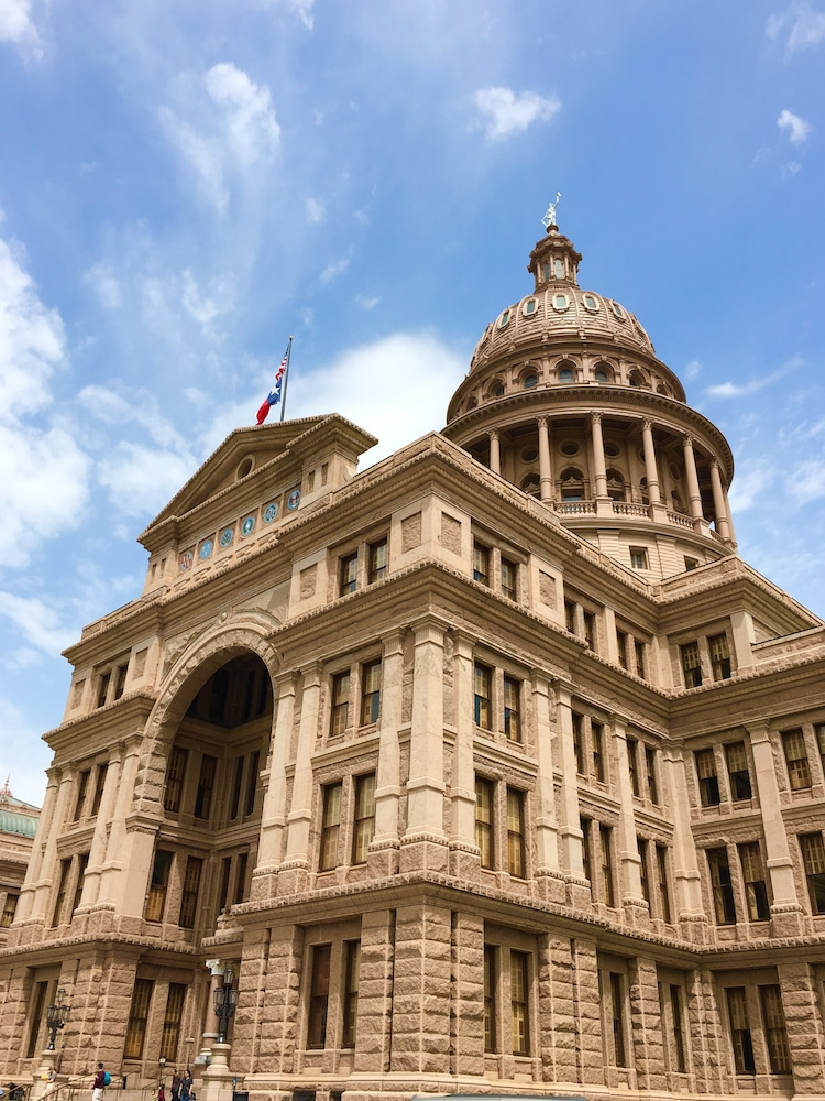 Texas State Capitol. Guide to 48 hours in Austin Texas.