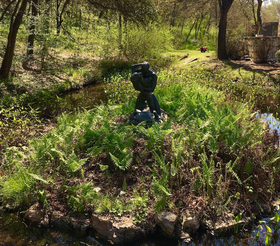 Umlauf Garden. Guide to 48 hours in Austin Texas