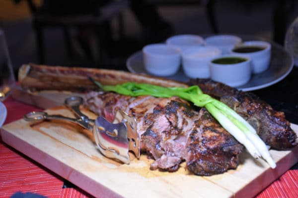 The Tomahawk Steak is a must-order, especially if you have two or more in your party. Photo by Lara Dunning