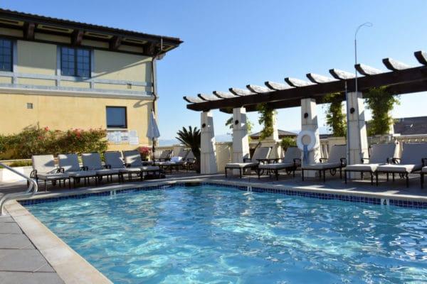 The pool at Hotel Valencia Santana Row.