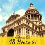 Live music, museums, great food, and bats. All that and more. Get the Ultimate Guide to 48 hours in Austin, Texas, with details on Downtown and South Congress area. #48hours #ultimateguide #austin #texas #visitaustin