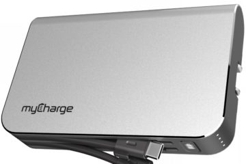The myCharge HubPlus 6700mAh portable charger. Photo courtesy myCharge
