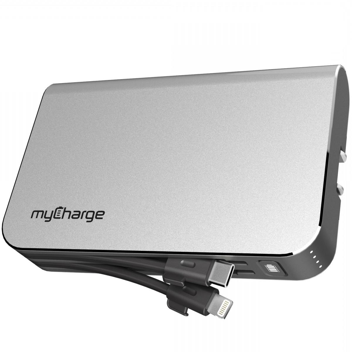 The myCharge HubPlus 6700mAh portable charger. Photo courtesy myCharge