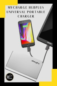 I received the myCharge HubPlus 6700 mAh Universal Portable Charger to review recently. I was looking for a good charger—and found the best portable charger I've ever used. I now never travel without myCharge. I recommend the myCharge HubPlus for your on-the-go charging needs.