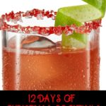 What better way to celebrate Christmas than with 12 Christmas cocktails? Here are my picks of cocktails for the holiday season. On the 4th day of Christmas, I sip The Afterlife with Avión Silver Tequila. #Christmas #cocktails #holidays #recipe #tequila #Avion