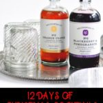 On the ninth day of Christmas, I sipped an Orange Clove Hot Toddy. This delicious #recipe features your favorite whiskey and the Orange Clove Mixer from Yes Cocktail Company. #cocktails #Christmas #Clove #HotToddy