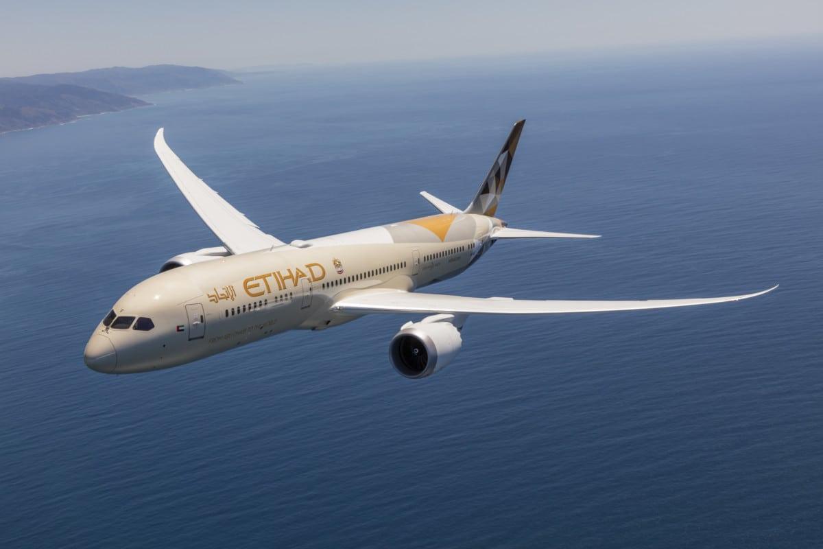 Flying Business Class on Etihad Airways