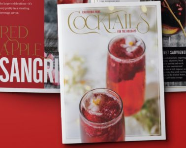 Holiday Wine Cocktail eBook Photo Credit California Wine Institute