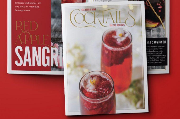 Holiday Wine Cocktail eBook Photo Credit California Wine Institute