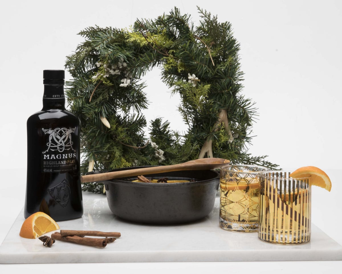 Christmas Cocktails - Viking Glogg courtesy Highland Park