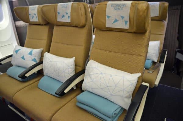Economy seats Etihad Airways