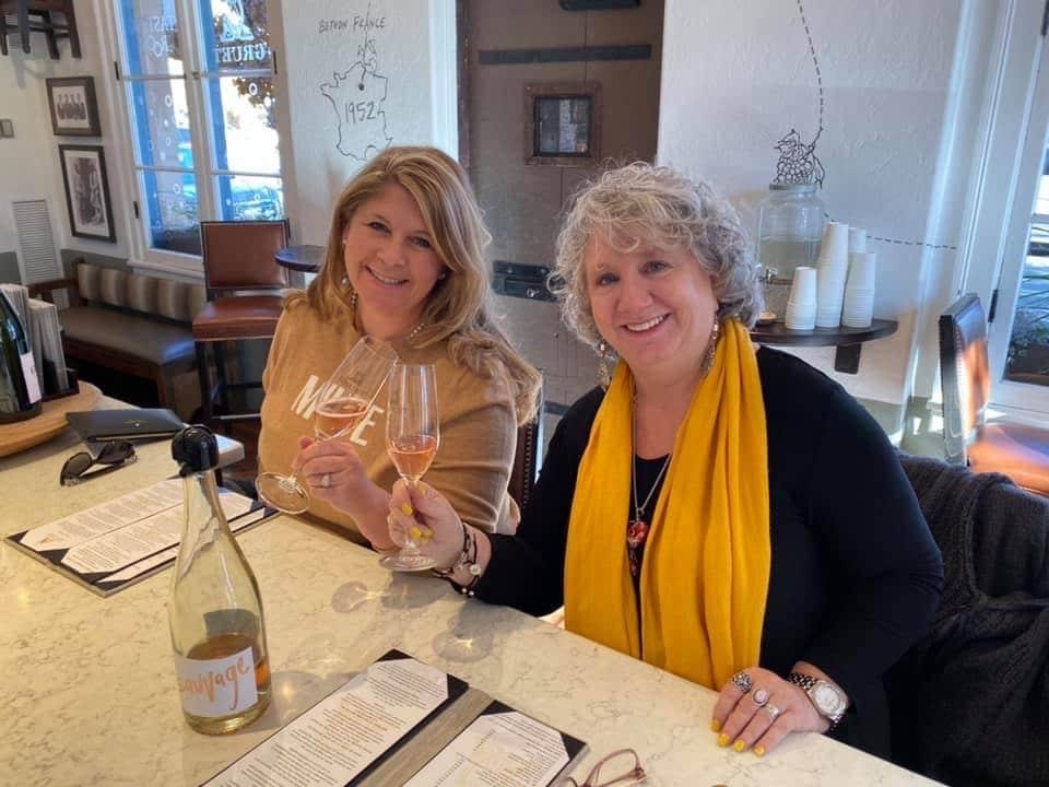 Gruet winetasting in Santa Fe