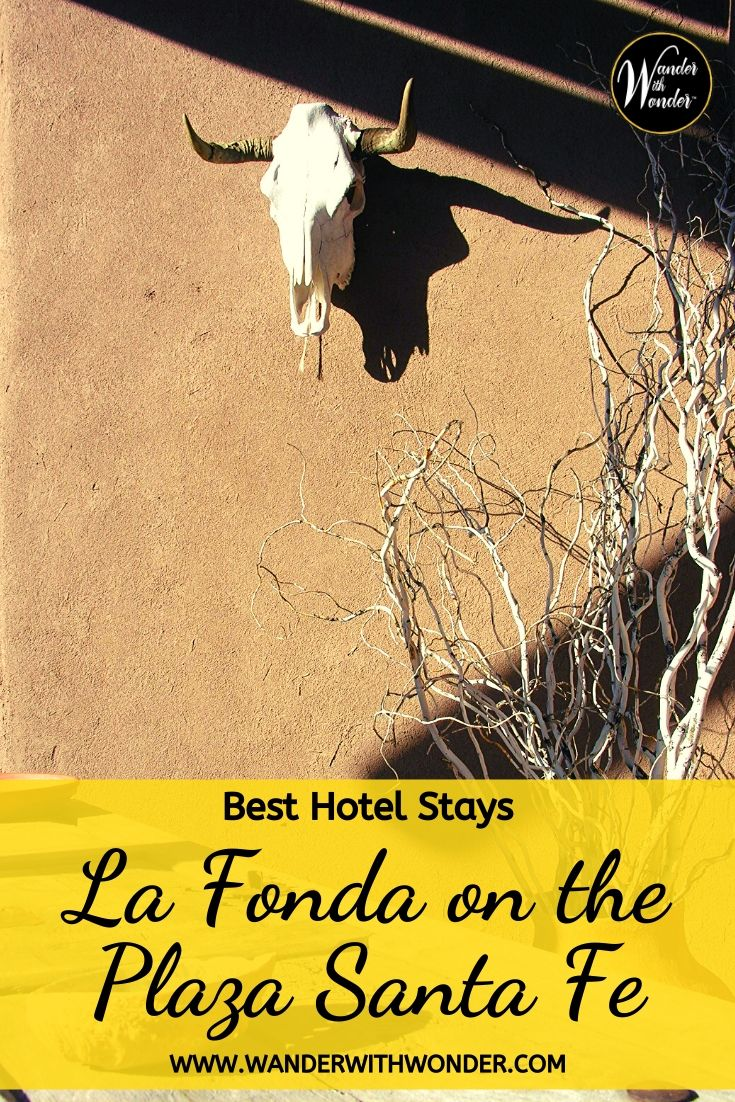 One of my favorite hotel stays is La Fonda on the Plaza in Santa Fe. La Fonda embraces the history and culture of New Mexico, but with every modern amenity. #SantaFe #NewMexico #NewMexicoTrue #LaFonda #Travel #BestHotels #FavoriteHotels