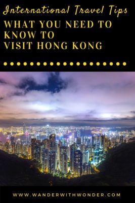Visiting Hong Kong for the first time might seem daunting, but you don't need to feel that way. Below is a list of what you need to know if you are planning to visit Hong Kong from Chicago, which is a major gateway from the Central US. #HongKong #InternationalTravel #TravelTips #vacation #sponsored