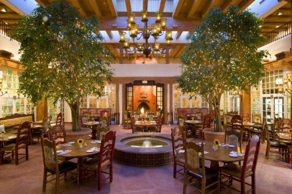I enjoyed the hacienda feel of dining at La Plazuela in La Fonda. Photo courtesy La Fonda on the Plaza in Santa Fe
