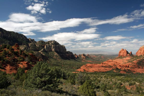 Sedona Scene - Romantic Places in the Southwest