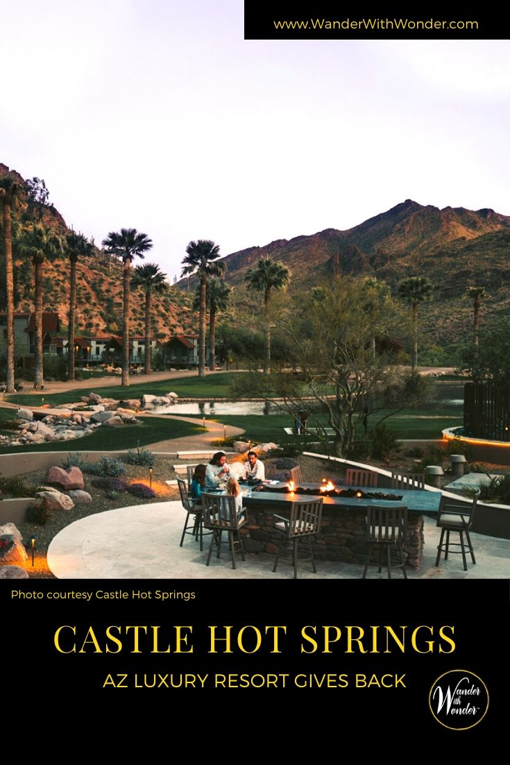 Castle Hot Springs in Arizona offers farm-fresh produce subscriptions from its organic garden and greenhouse. All profits are donated to the local St. Vincent de Paul. Then you can visit the luxury Arizona resort soon! While the natural beauty of the area is the main draw, the resort, with a range of accommodations from bungalows with spring-fed private tubs to lodge rooms, is beautifully-appointed and includes sought-after modern amenities.