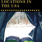 What is the first thought that comes to your mind when someone mentions camping? Swimming in a nearby lake or a river? Sleeping underneath the stars? Fighting off annoying bugs? Did you know that this can also be an amazing winter activity? These winter camping locations in the US might change your mind! Check out these places, see what opportunities they offer, and maybe you will realize that camping can be a great way to spend your winter holidays.