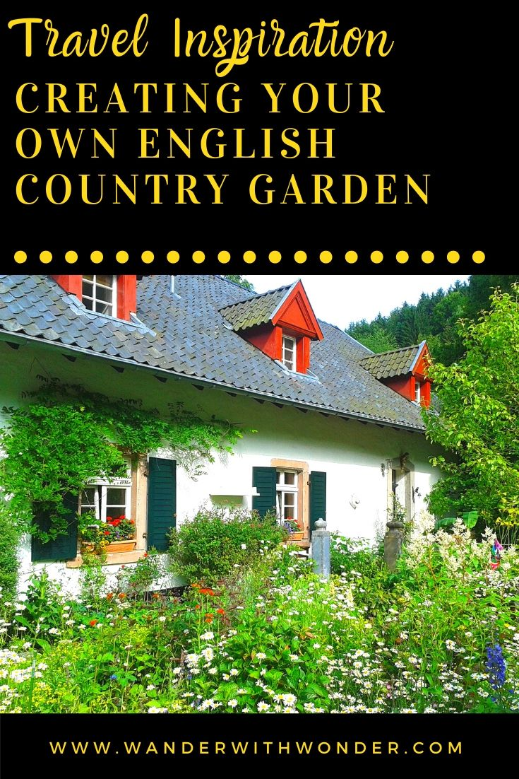 An English country garden is typically small, compact, and awash with vegetables, herbs, and an abundance of flowers and plants. This style of garden dates back to at least the 19th century when people grew their own produce and medicinal herbs. Here are some ideas and tips for creating an English country themed garden.