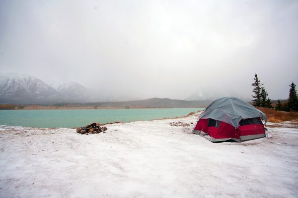 Beautiful Winter Camping Locations in the US