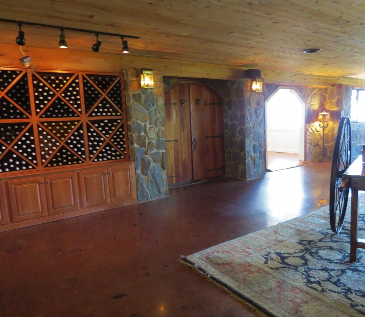 Wines at Chateau Morrisette