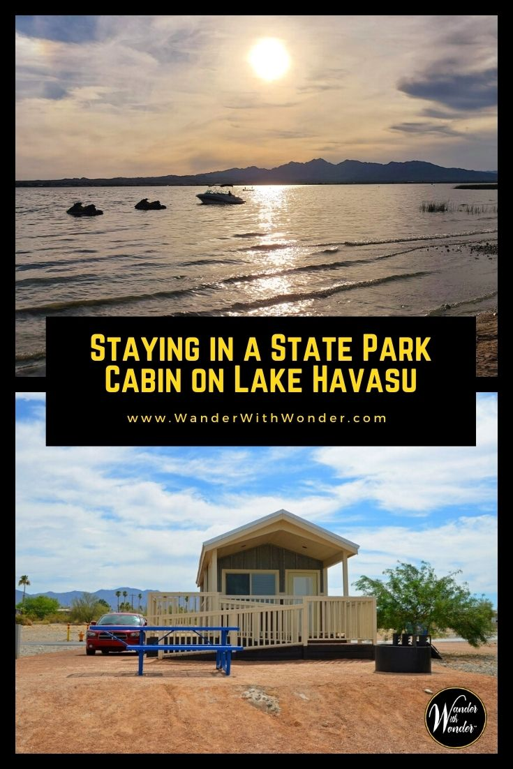 Looking for a family-friendly and socially distanced vacation? Thanks to COVID 19, we're all looking for alternative accommodations. A great option is one of the cabins at several Arizona State Parks & Trails. Staying at a cabin on Lake Havasu comes with great views, provides easy access to park amenities, and makes it easy to social distance.