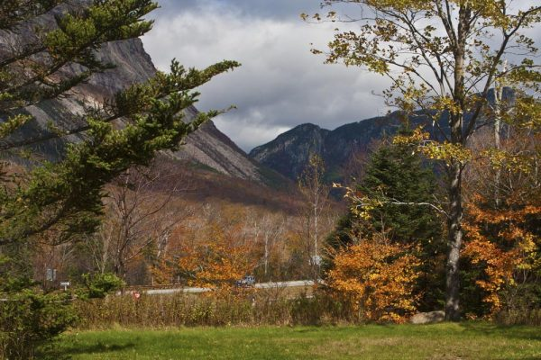 road trip in the White Mountains