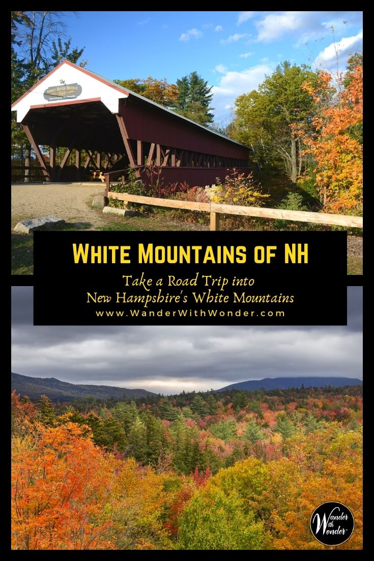 Interstate 93 leads north from Boston, ideal for a road trip in the White Mountains of New Hampshire. This beautiful region offers pristine forests, rock-capped mountains, hiking, and waterfalls. This is an ideal summer road trip or a great road trip to see the fall colors in New England.