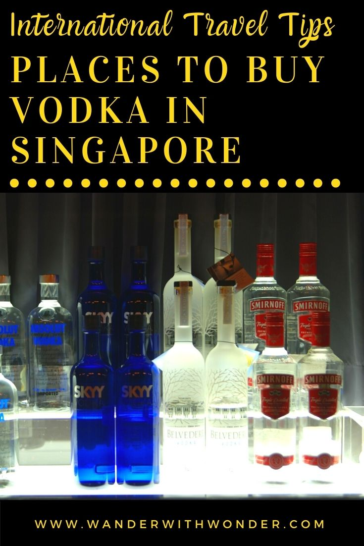 Visiting Singapore? Do you need to buy a bottle of vodka for a party or to stock your liquor cabinet? Below are the places to buy vodka in Singapore. In this sponsored article, we give you suggestions for the best place to buy vodka and other spirits in Singapore.