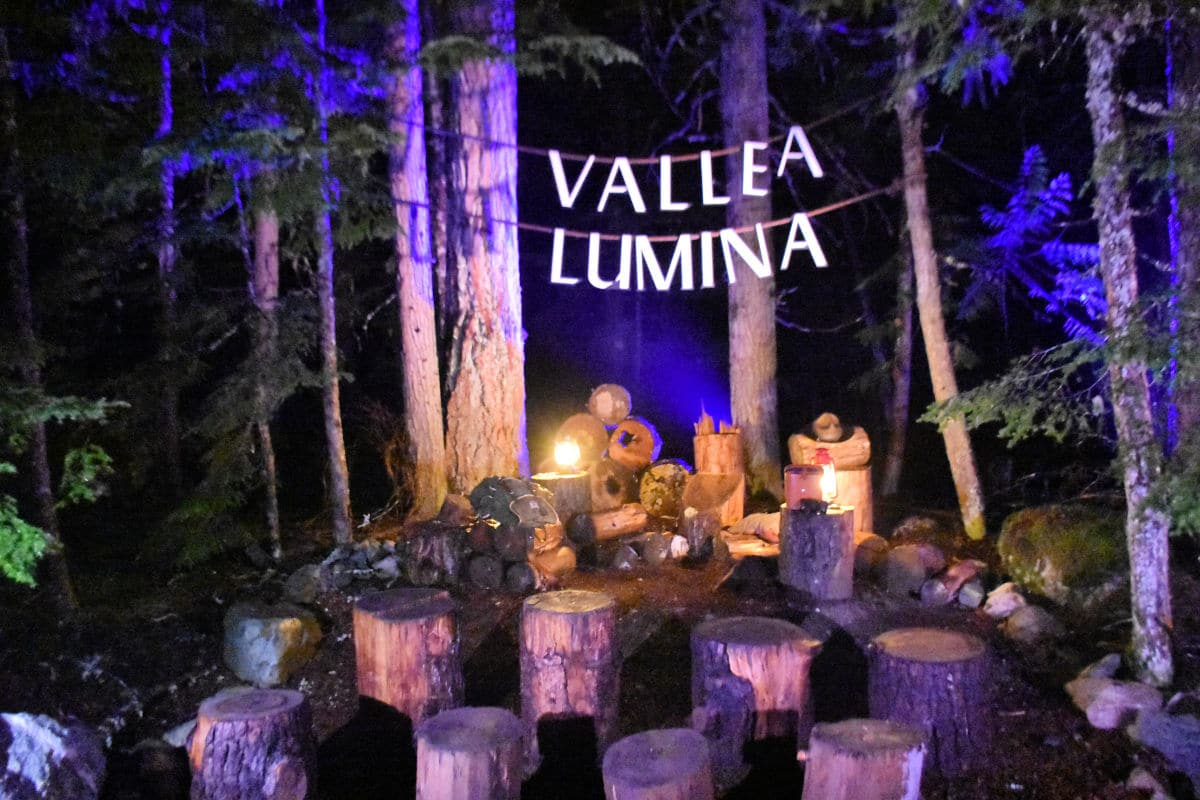 Whistler in the Off Season - Vallea Lumina is a fantastic activity for all ages. Photo by Lara Dunning