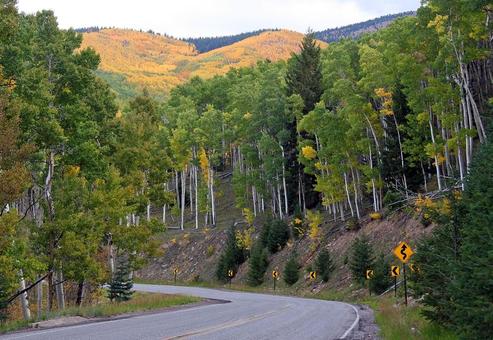 Sangre de Cristo Mountains - Fall Colors in the Southwest