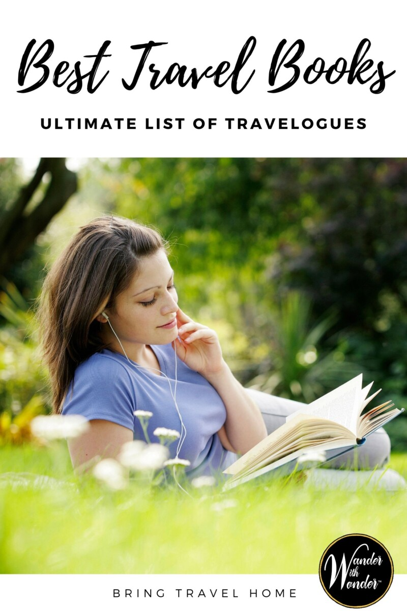 If 2020 has taught me anything, it is that travel is vital. Though in a crunch, a travelogue can provide hours of enjoyment. It's one more way that we at Wander are looking to Bring Travel Home for our readers. As an avid travelogue reader, here are the top travel books to gift or enjoy.