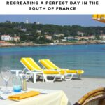 I can use some of my favorite travel memories—and share them with you—to help bring travel home. One of my favorite beach memories was sitting in Antibes in the South of France. Come along and share my travel memory, and I'll help you bring travel home by bringing home Provence. After all, don't we all want a bit of the South of France in our dining room or back yard?