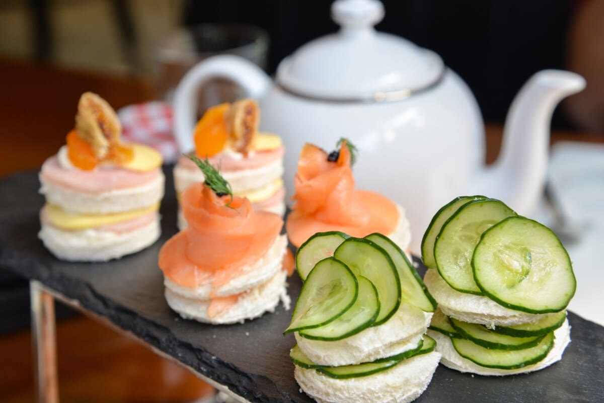 Fix some simple finger sandwiches for afternoon tea. Photo by iStock by Getty Images