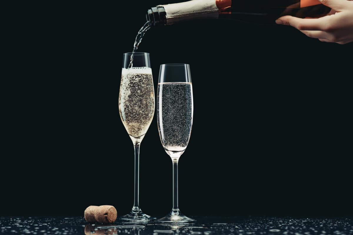 A great champagne has plenty of fine bubbles. Photo by LightFieldStudios via iStockPhoto