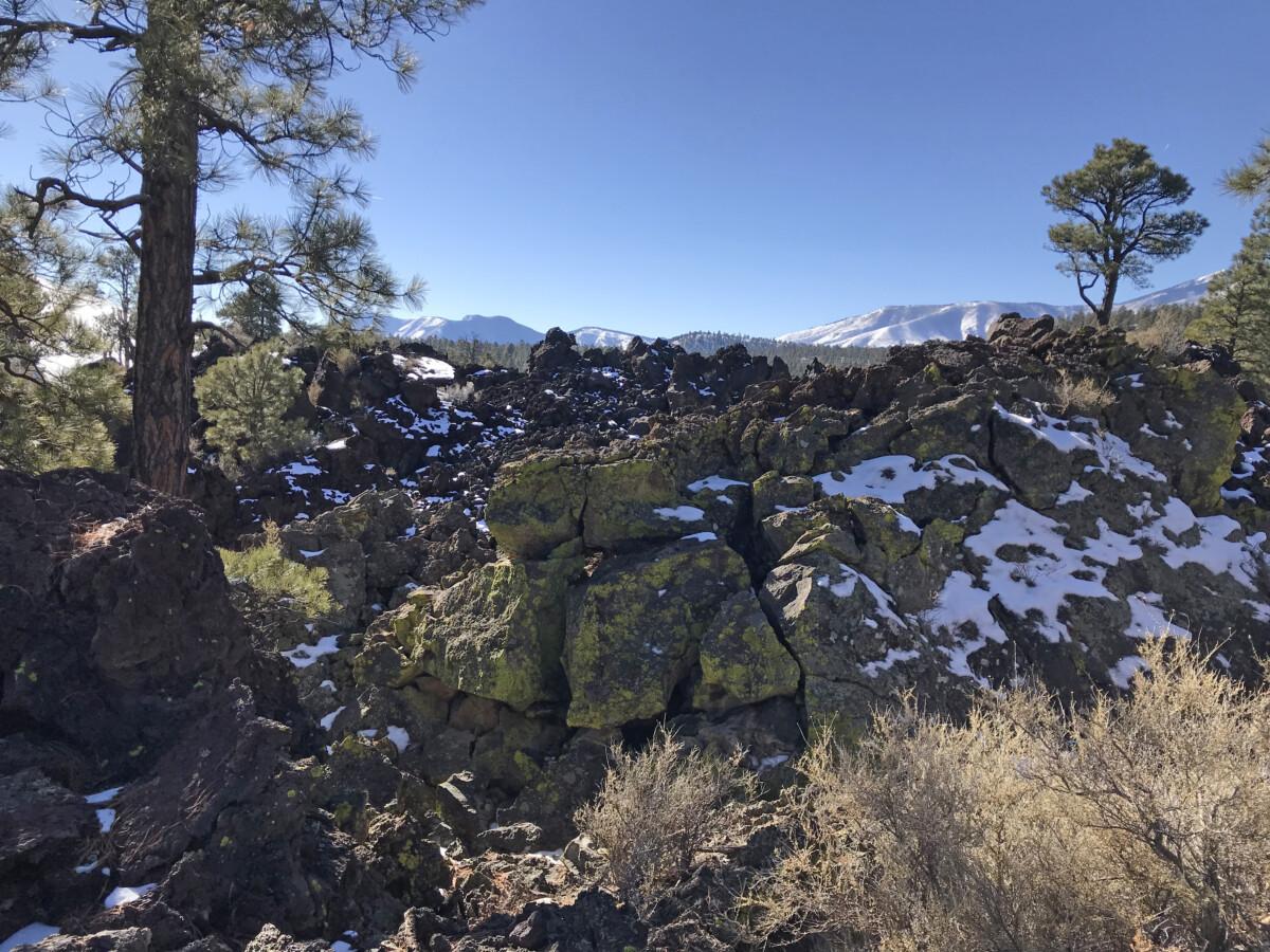 Lava Flow - Northern Arizona Road Trip